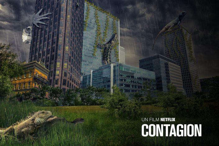 Photo montage - Netflix